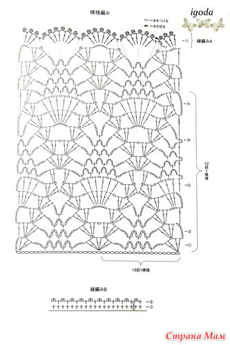 Crochet and arts: beautiful vest