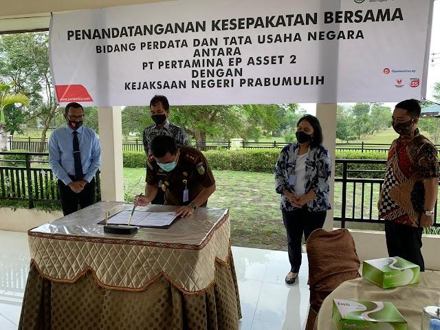 Bersiap Meningkatkan Produksi Migas, Asset 2 kembali teken kerjasama dengan Kejaksaan Negeri Prabumulih