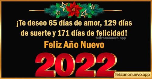 Felicitaciones de Año Nuevo 2022
