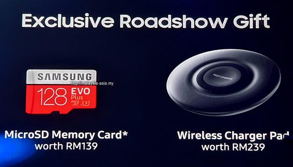 Malaysia Galaxy S20 Roadshow Promotion