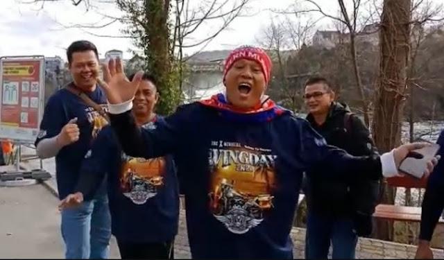 5 Pejabat Cianjur Ketawa-Ketawa Plesiran di Eropa