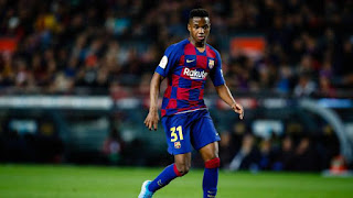 Barcelona chiefs considering the sale of Manchester United target Ansu Fati