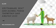 Keutamaan, Niat dan Jadwal Puasa Tarwiyah dan Arafah 2020