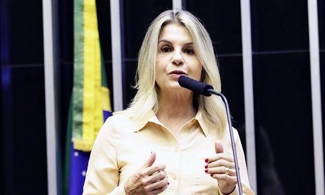 """Justiça determina que deputada Bolsonarista apague """"Fake News"""" que ela publicou em redes sociais"""