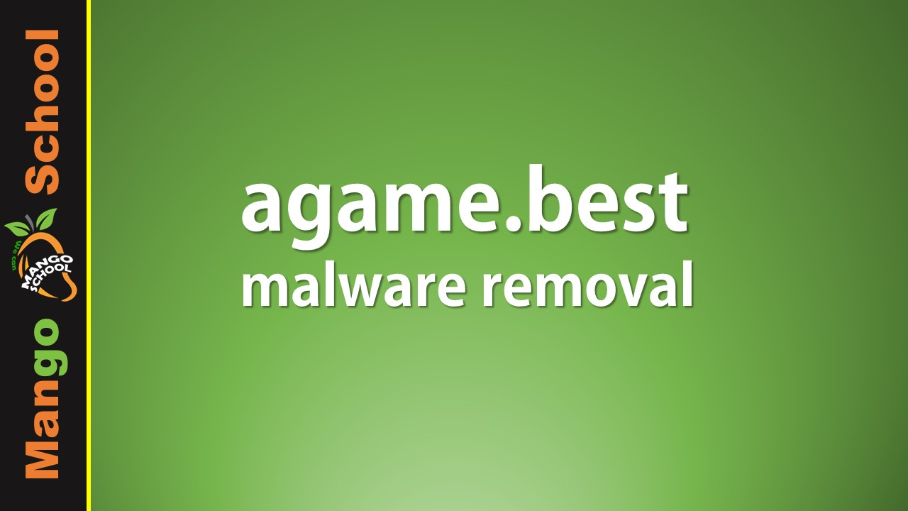 Agame Best Virus Removal Tips