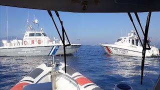 بالفيديو: خفر السواحل التركي يرد على انتهاك خفر السواحل اليوناني للمياه الأقليمية