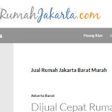 Cari Rumah dijual wilayah Jakarta lebih mudah dengan situs jualrumahjakarta.com