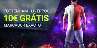 luckia promocion Premier Tottenham vs Liverpool 11 enero 2020
