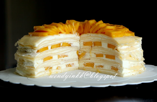 Crepe Cake Apple
