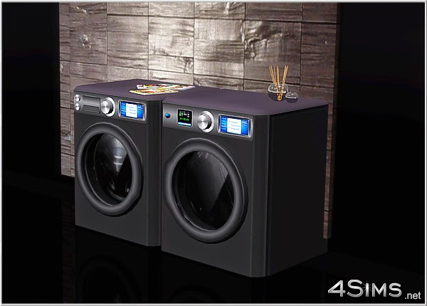 My Sims 3 Blog Decorative Washing Machine And Dryer Combo