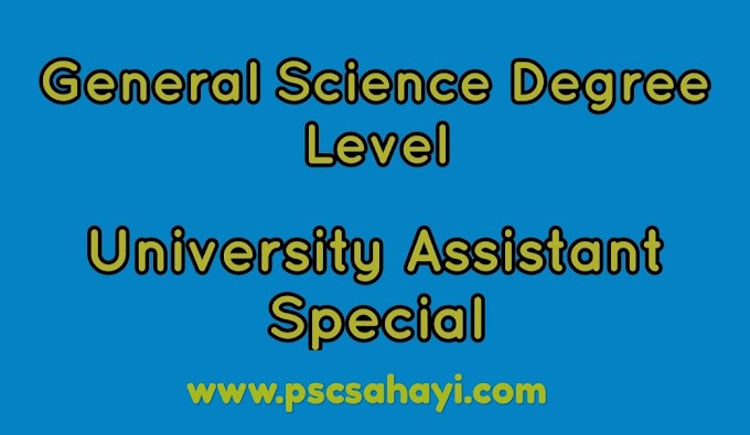General Science Degree Level