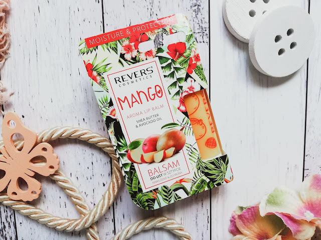 AROMA LIP BALM | Balsam do ust w sztyfcie o zapachu mango | Revers Cosmetics