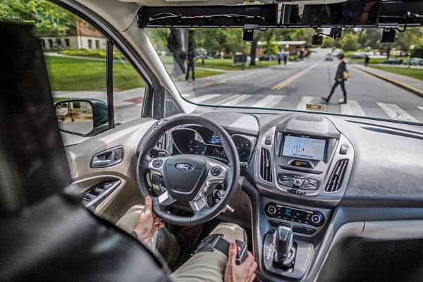 Ford vehículos autónomos