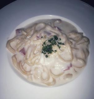 spaghetti carbonara ala foresthree cafe