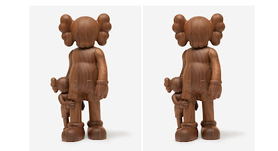 """""""Good Intentions"""" Companion Wood Figure by KAWS"""