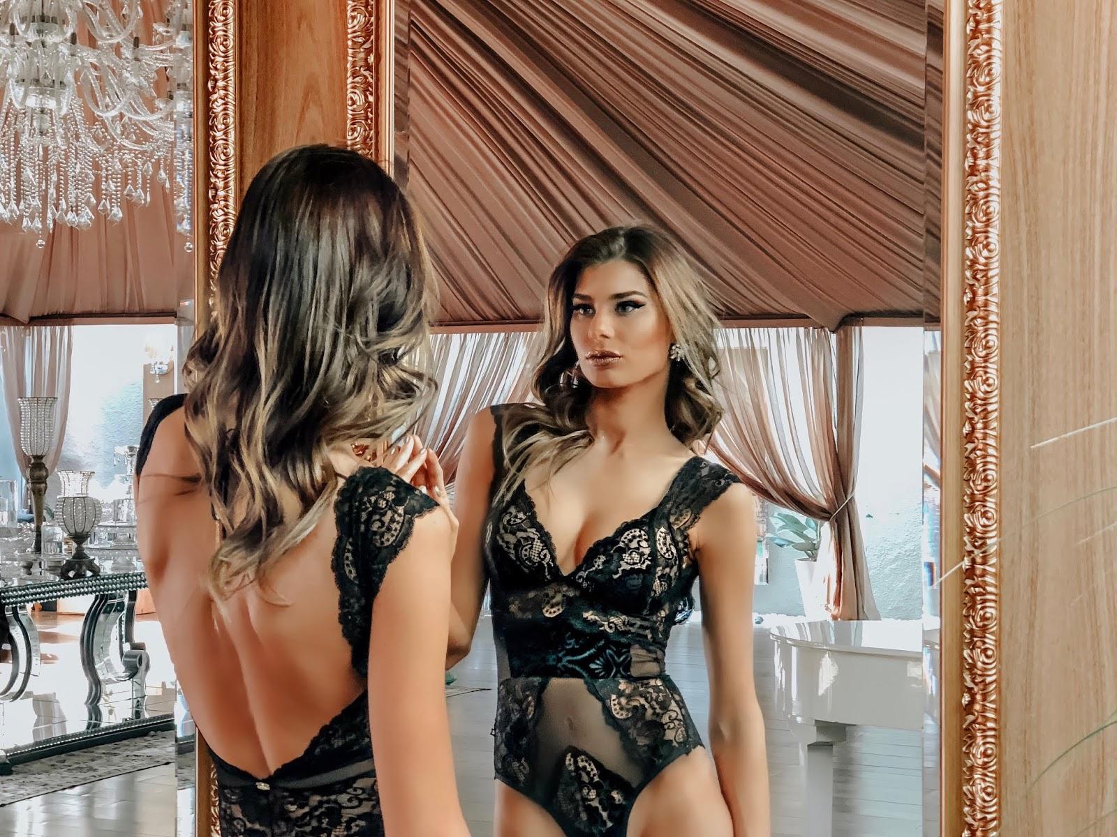 lingerie bordada