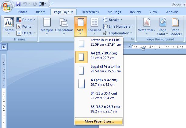 3 Langkah Mengatur Ukuran Kertas F4 Di Word Dan Membuat Tulisan Tidak Terpotong Jaya S Com