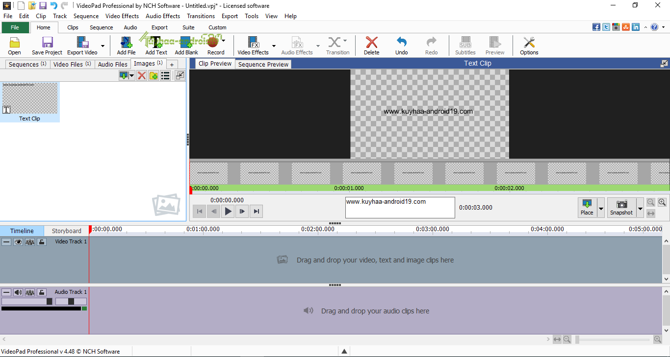 VideoPad Video Editor Professional 5.32 Full - kuyhAa ...