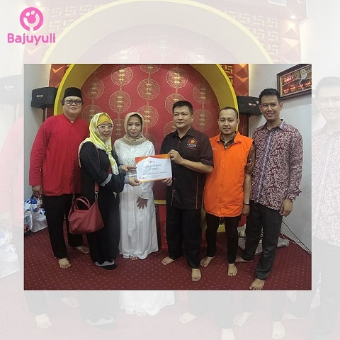 Charity Bajuyuli: Pembangunan Masjid Lautze 2 Bersama Kitabisa dan Masjid Nusantara