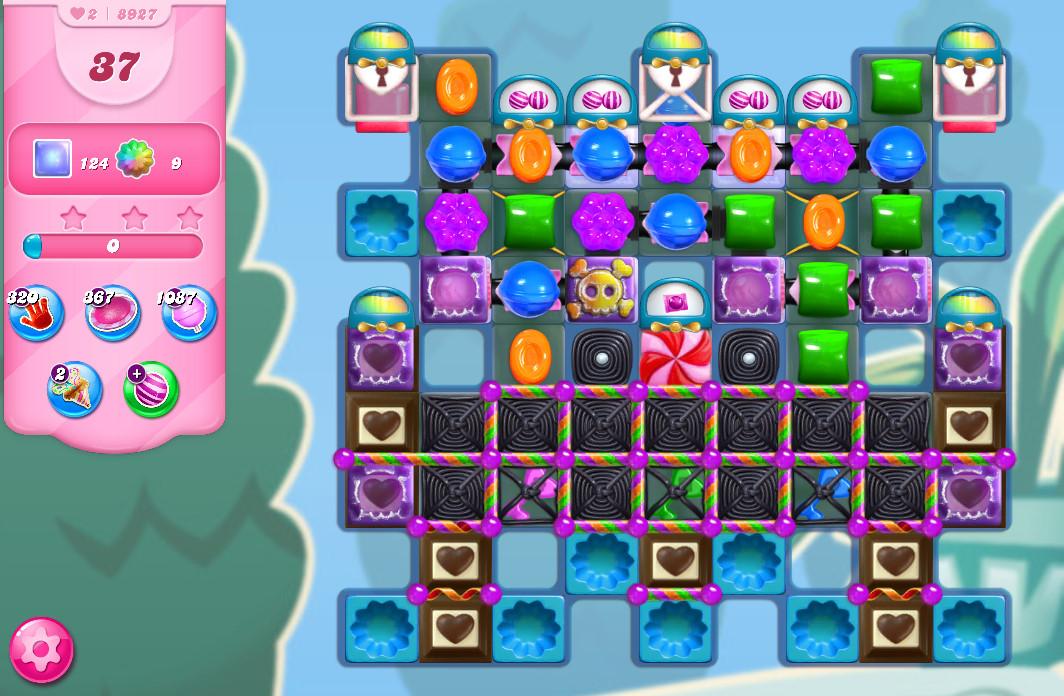 Candy Crush Saga level 8927