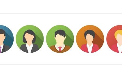 Percobaan membuat profile penulis tampil diatas postingan