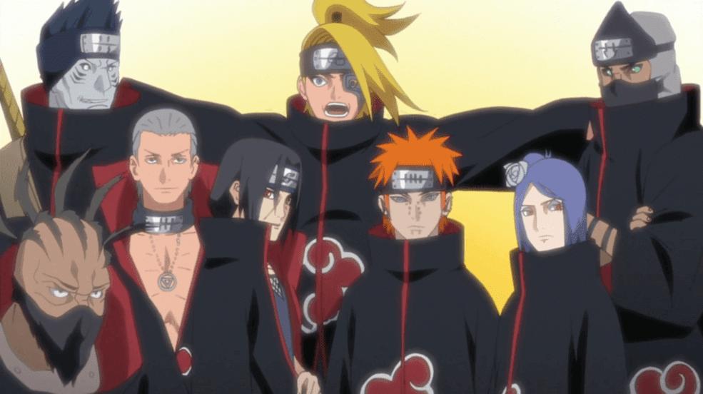 Jutsu Terkuat Setiap Anggota Akatsuki