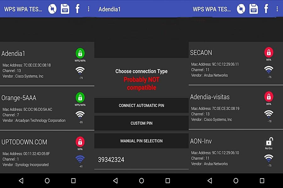 تحميل برنامج Wps Wpa Tester للاندرويد
