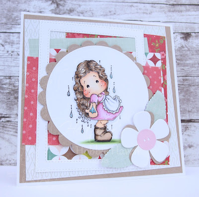 Heather's Hobbie Haven - Spring Rain Tilda Card Kit