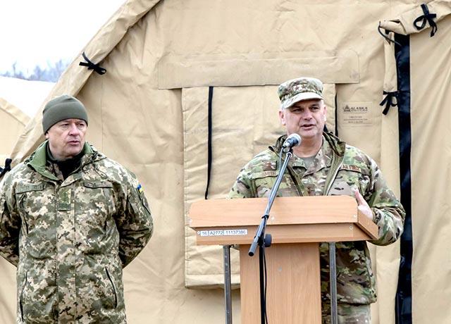 США передали українським військовим наметовий комплекс вартістю $1,5 млн