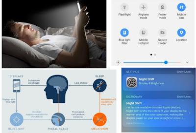 الفائدة الطبية من علامة تصفية اللون الازرق | Blue light filter