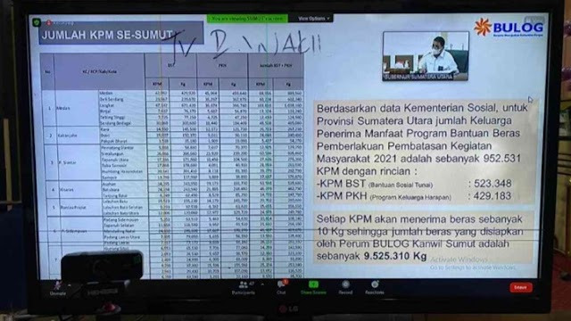 Sebanyak 24.978 PKM di Labura akan Dapat Bantuan Beras