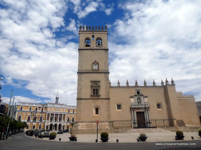 visitar la Catedral de Badajoz