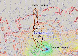 Daerah Aliran Sungai WMS Global Mapper