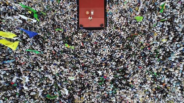 Prabowo Tuding KPU Gelembungkan 22 Jutaan Suara untuk Jokowi