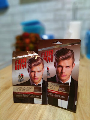 For Him Hair Coloring Shampoo