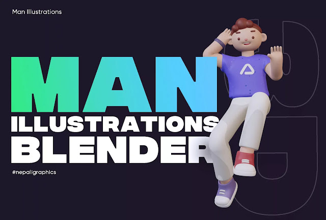 3d-man-illustrations