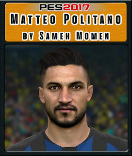 PES 2017 Faces Matteo Politano by Sameh Momen