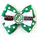 Girl Scout Bottlecap Bows