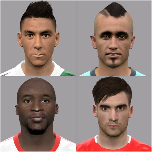 Facepack Update PES 2017