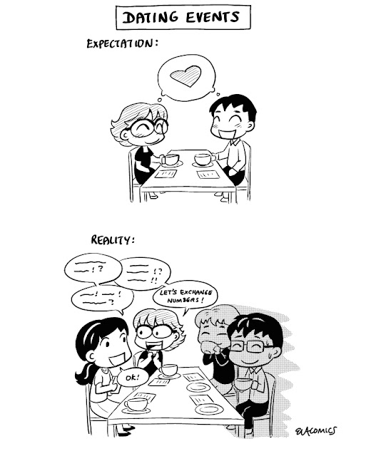 Comics: Dating Events