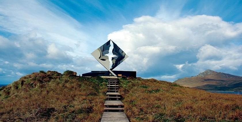 Albatros Monument, Cabo de Hornos, Chile.