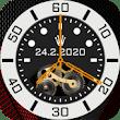 Luxury Clock Live Wallpaper 2020