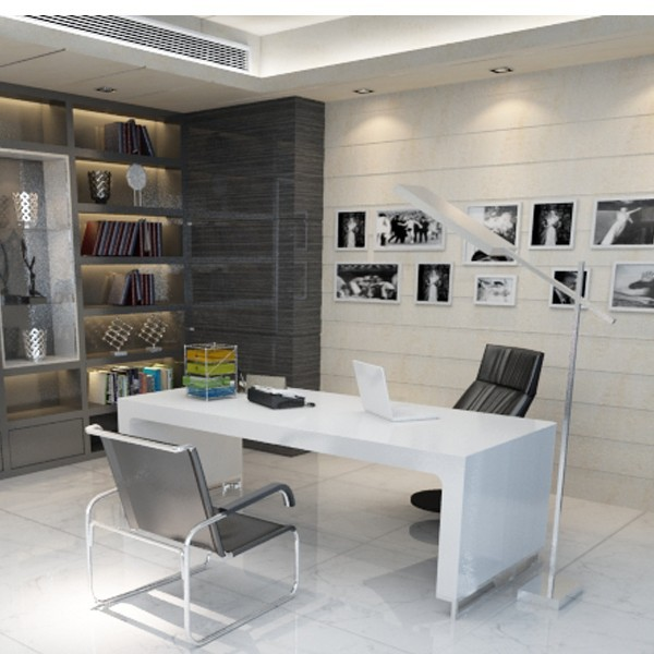 Real estate office interior design interior design - Small office modern design ...