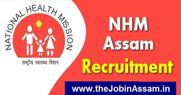 National Health Mission, Assam Recruitment 2020