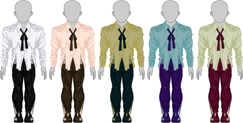Victorian Flair Set - Male