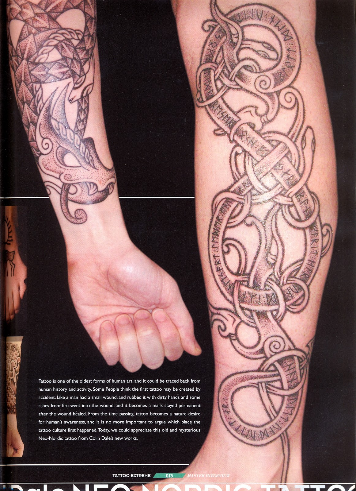 Skin Amp Bone Tattoo Extreme Vol 53 2012