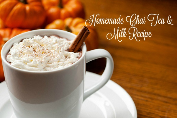 Chai Tea & Milk Recipe  via  www.productreviewmom.com