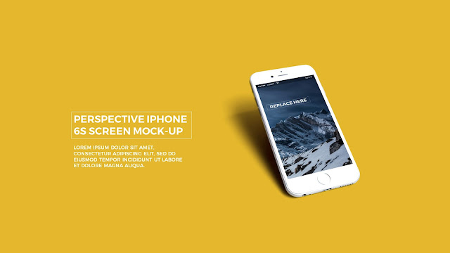Make your APP UI Presentation in style with this realistic iPhone 6s Mockup in Powerpoint