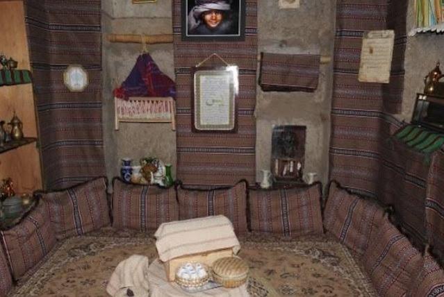 مكونات البيت العماني القديم