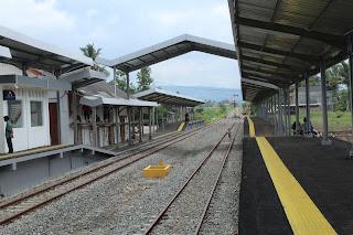 peron stasiun wanaraja